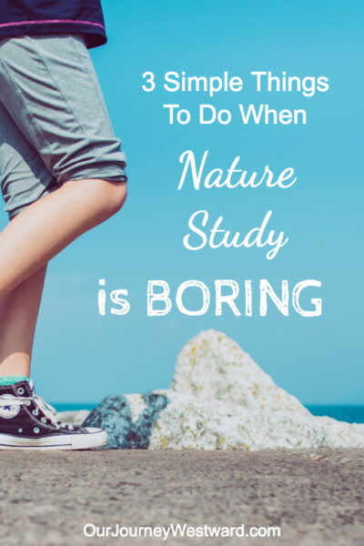 When nature study is boring, these tips will turn things around!