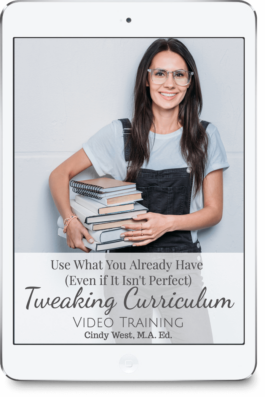 Learn how to tweak curriculum to meet the needs of your homeschool.