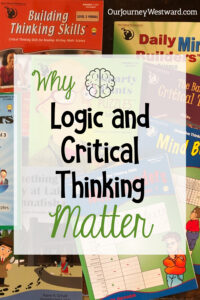 Logical and critical thinking are great skills to be practiced for all kinds of important reasons!