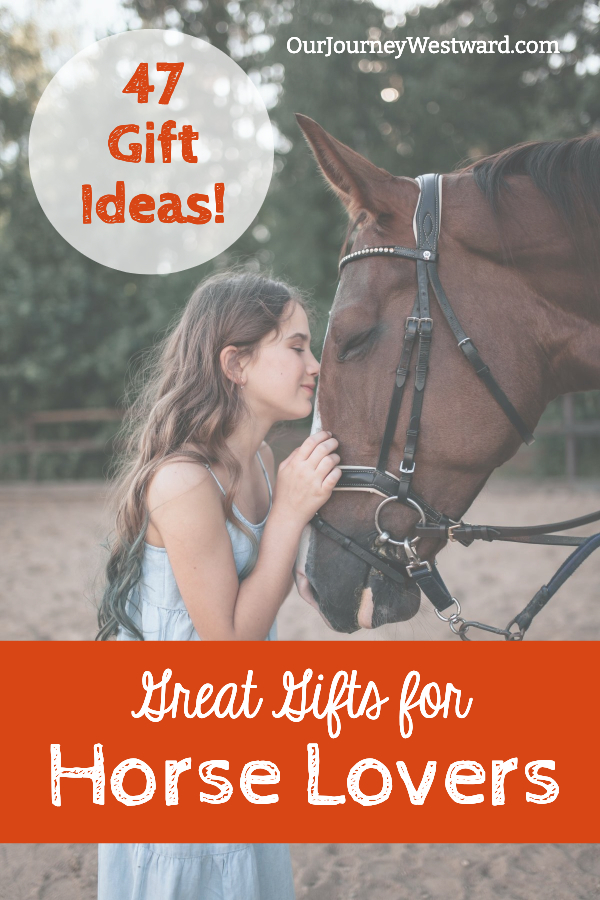 39 gift ideas for your favorite horse lover! Perfect for Christmas, birthdays, or any special occasion.