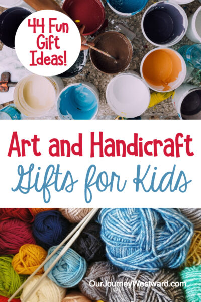 Have so much fun and promote creativity with these art and handicraft gifts!