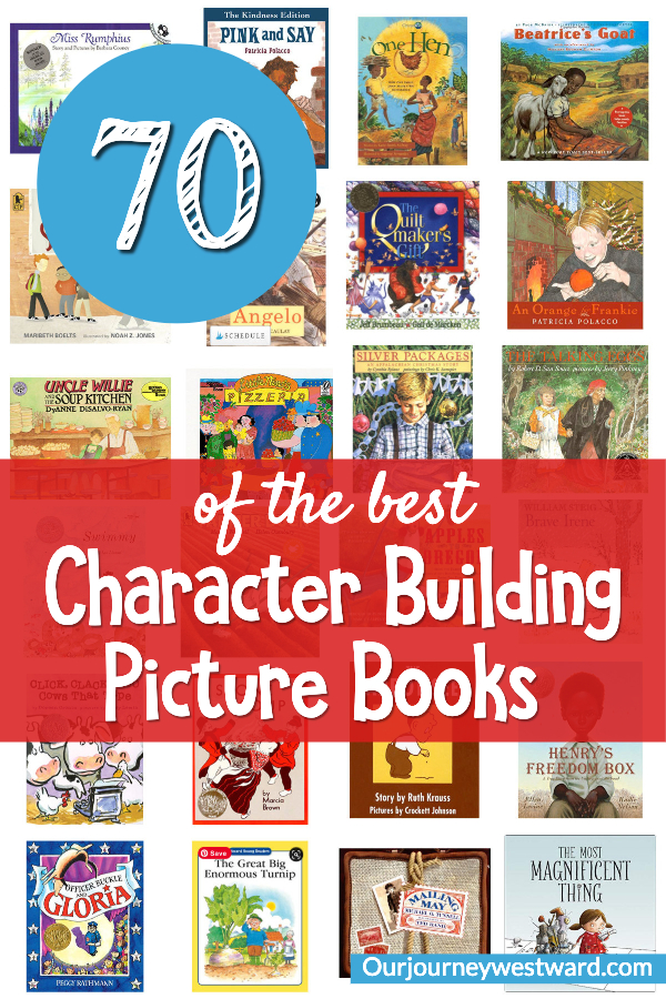 These character building picture books can be so helpful in your home!