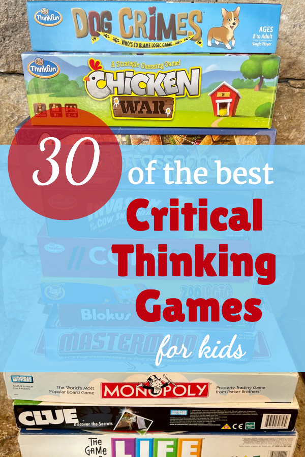 The Best Critical Thinking Games for Your Homeschool