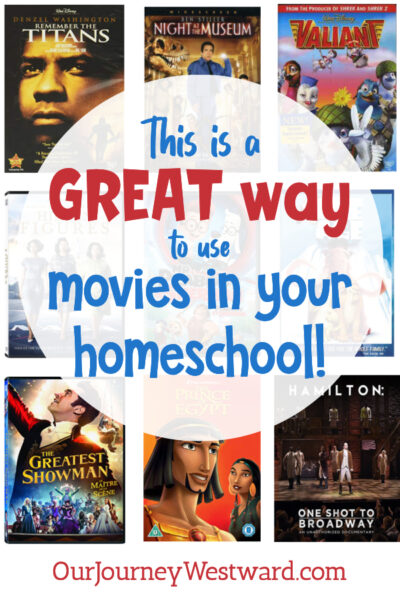What a fun way to use movies for educational purposes in your homeschool!