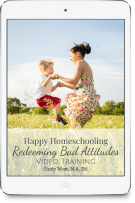 Bad attitudes in the homeschool are common. These ideas can help turn those frowns upside down.