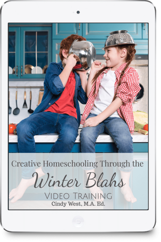 Homeschooling through winter can be CHALLENGING for lots of reasons. Here are some creative tips and tricks to get your through it successfully.