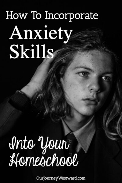These homeschool anxiety skills can help your and your children understand and cope with their anxious thoughts and emotions.