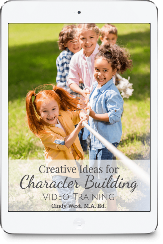 Learn all about character training for multiple ages.