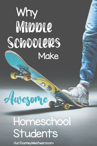 The middle school homeschool years can be some of the best ever!