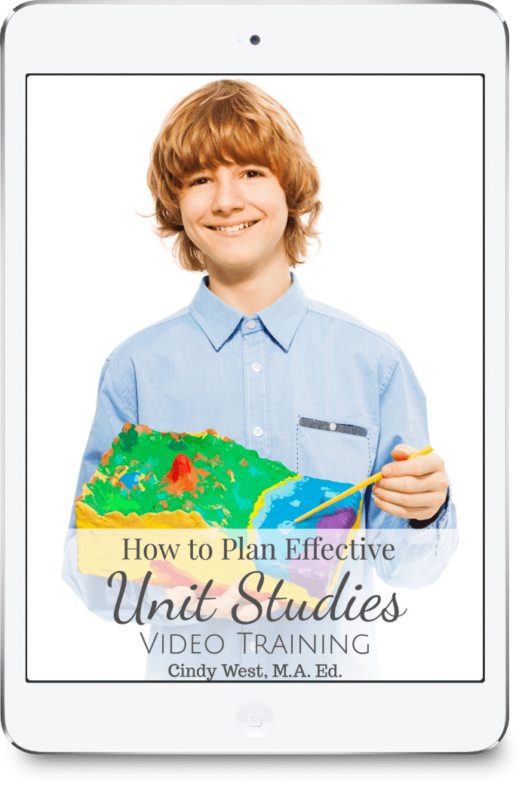 Unit studies are a great addition to your homeschool!