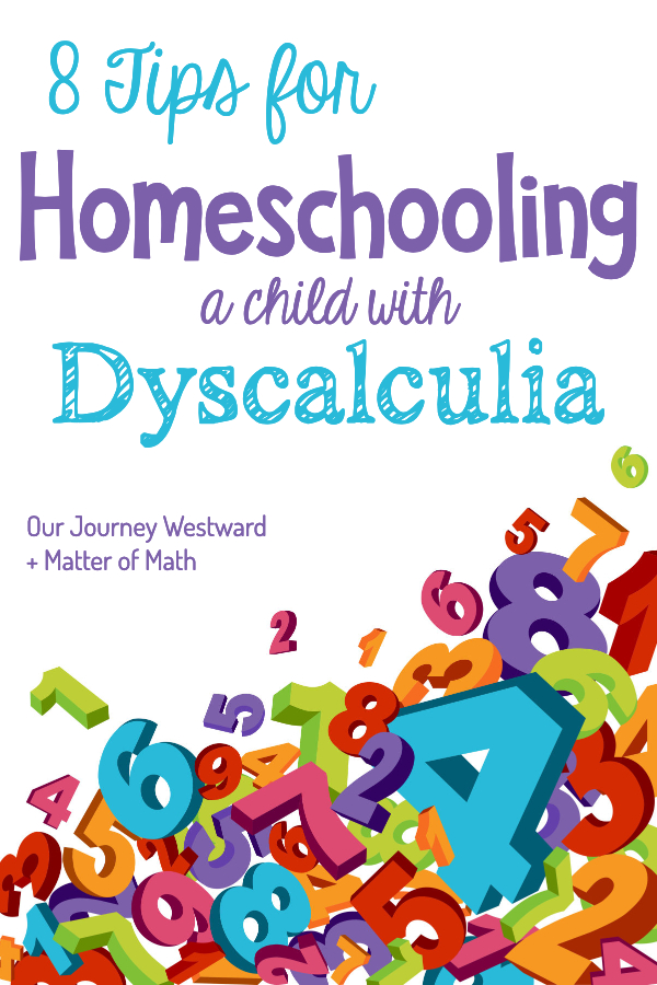 8 Tips for Homeschooling a Child with Dyscalculia