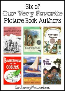 Six of Our Very Favorite Picture Book Authors