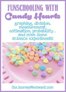 Your children will have so much fun with these candy heart lessons! They are appropriate for elementary and middle school students and include plenty of math and science ideas.