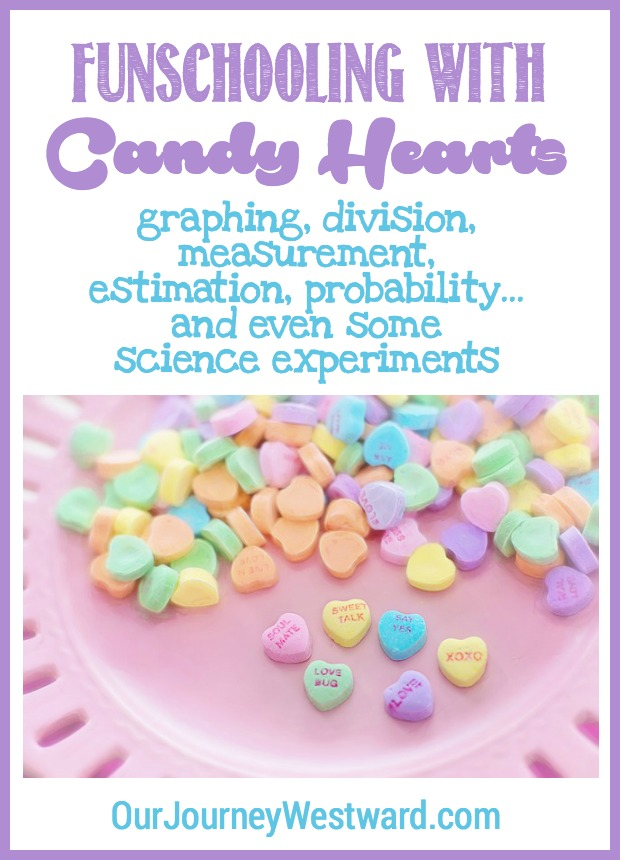 Your children will have so much fun with these candy heart lessons! They are appropriate for elementary and middle school students and include plenty of STEM ideas. Math and science were never so much fun!