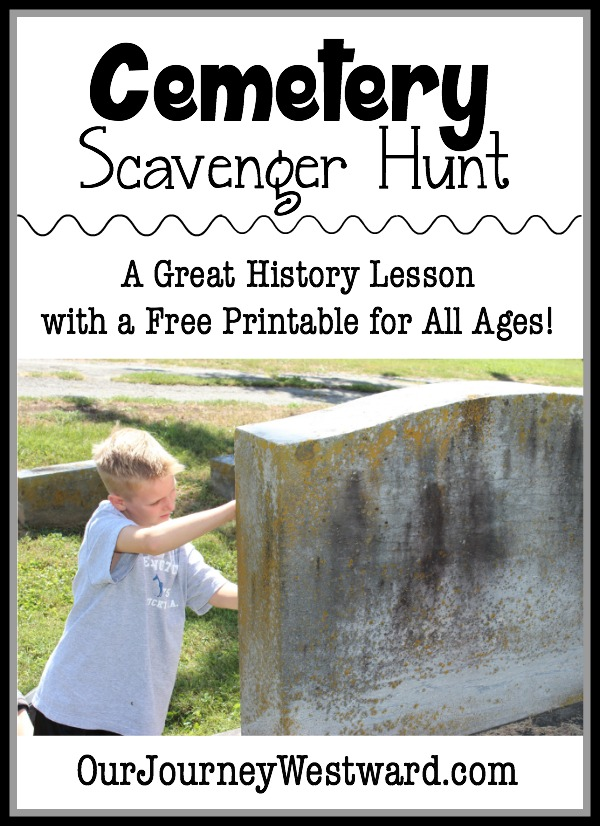 A Cemetery Scavenger Hunt Makes a Great History Lesson