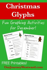 Glyphs are fun pictorial representations of data. These Christmas themed glyphs are perfect for your elementary students!