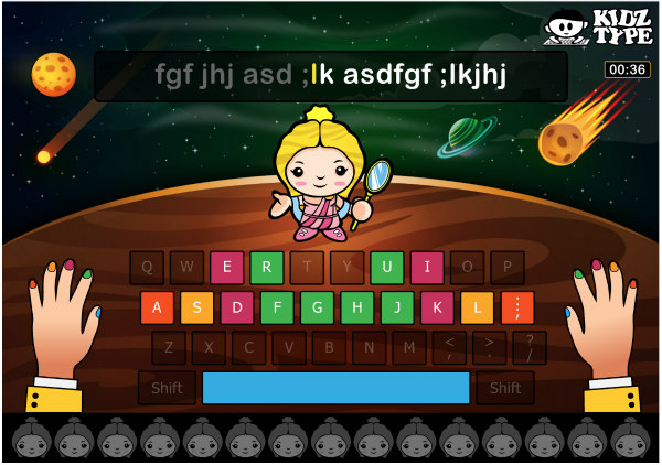 Improve language arts skills with typing! #homeschool #languagearts #typingtest