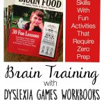 Dyslexia Games workbooks are a new tool in my brain training arsenal of resources.