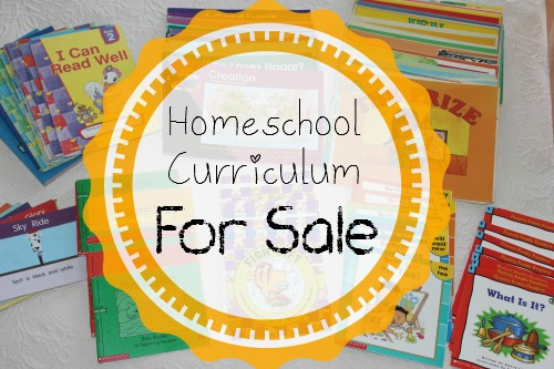 Homeschool Curriculum For Sale ~Last Chance!