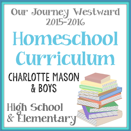 Homeschool Curriculum 2015-2016