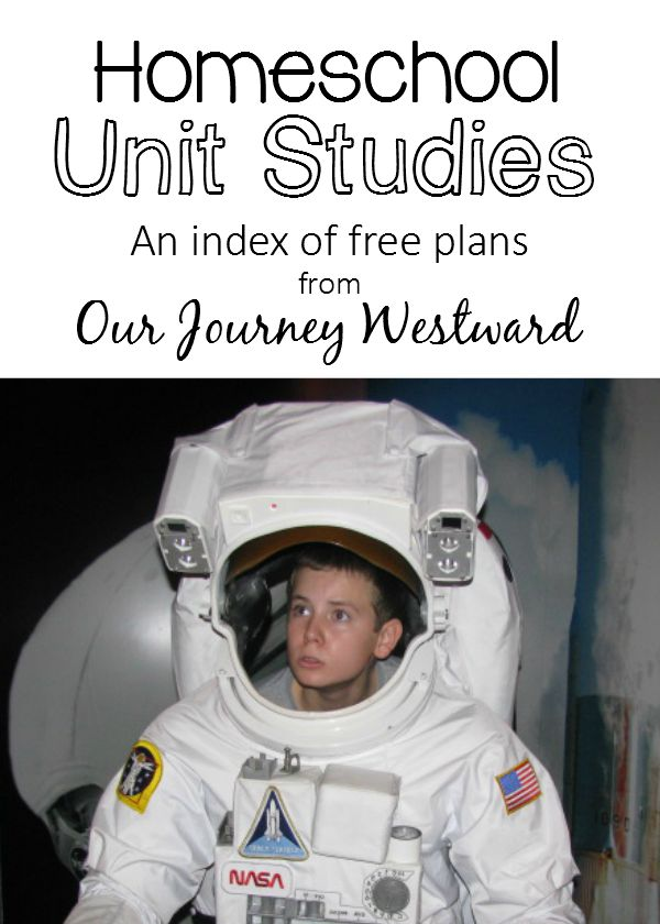 Our Journey Westward Unit Studies