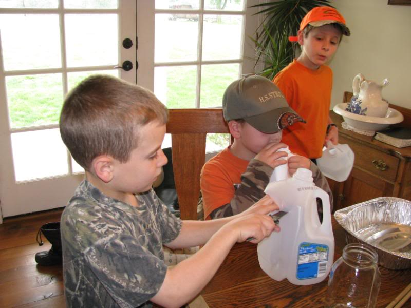 Pond nature study is extra fun when experienced with a nature club!