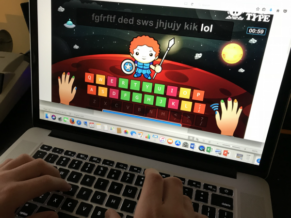 Improve language arts skills with typing! #homeschool #languagearts #typingtest