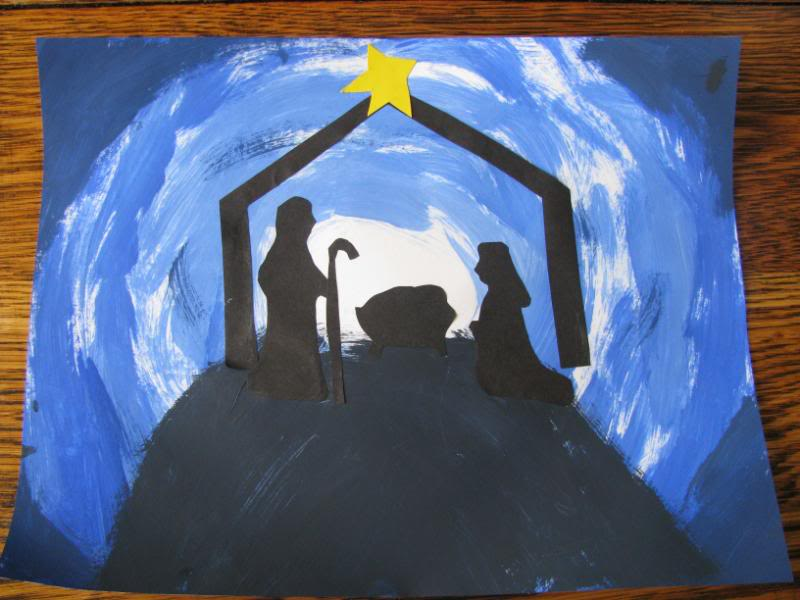 Christmas artist study of Nativities