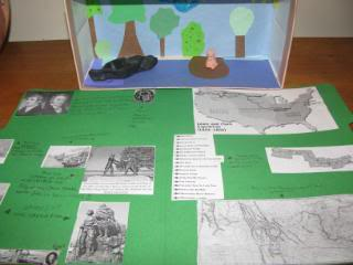 Westward Expansion Unit Study - living literature, hands-on, homeschool
