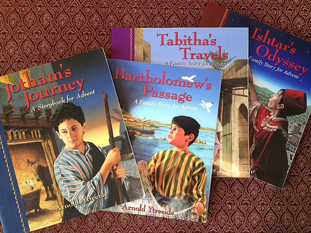 The Jotham's Journey series of books is NOT to be missed during the Christmas season!