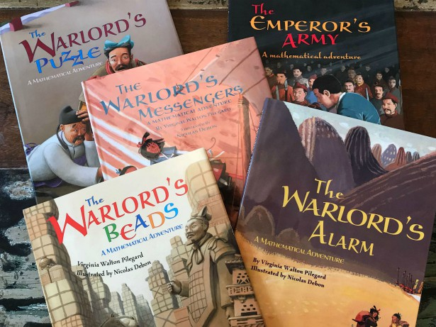The Warlord's Series: Math literature for 6-10 year olds. #livingmath #math #livingbooks