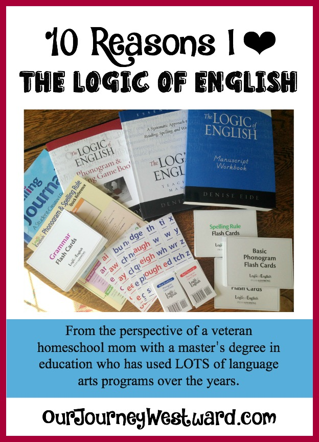 10 Reasons I Love The Logic of English