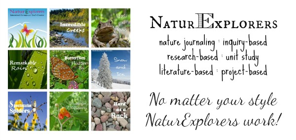 NaturExplorers guides give you everything you need for creative nature study - plus so much more!