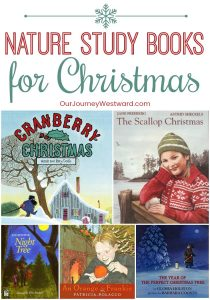 You'll love this list of Christmas nature study books! #Christmas #naturestudy