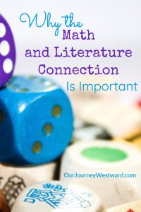 The math and literature connection is powerful during the elementary years. #math #homeschooling #livingbooks