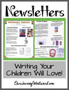 Need a fun writing assignment? Try newsletters for a meaningful way to teach writing and technology!