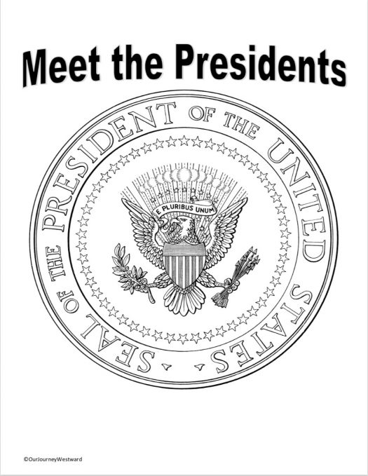 Presidents of the United States Notebooking Pages for 2nd-6th Grades