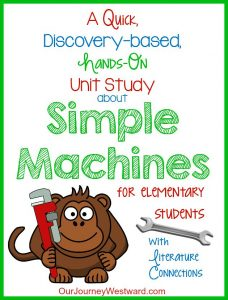 This is a great unit study that can be finished in a week or two!