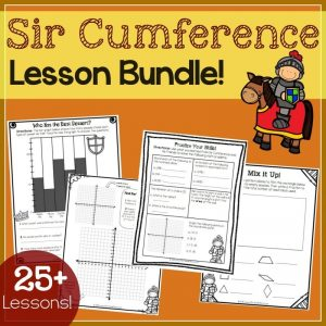 Living Math Lessons for the Sir Cumference Series