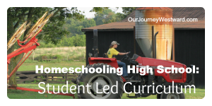 Student Planned Classes to Homeschool High School