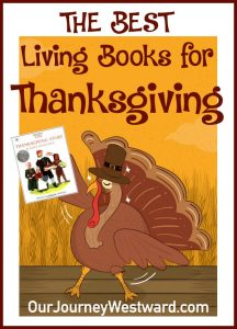 Your children will love these Thanksgiving living books!