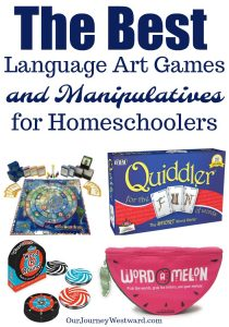 The Best Language Arts Games and Manipulatives for Homeschoolers