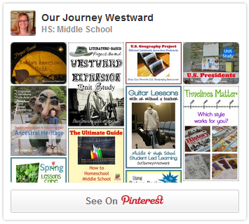 Cindy West's Middle School Pinterest Board
