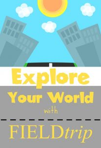Find new places to explore and learn more about those places with a little help from your smart phone.