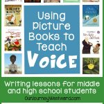 Using picture books to teach voice in writing makes a tough concept come to life.
