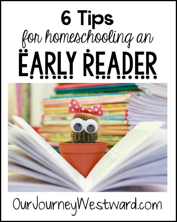 Do you have an early reader? A gifted reader? Should you still teach phonics? Comprehension? These 6 tips will help parents of early readers.