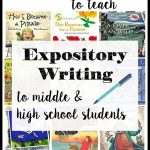 Teach middle school and high school students creative expository writing using picture books as mentor texts!