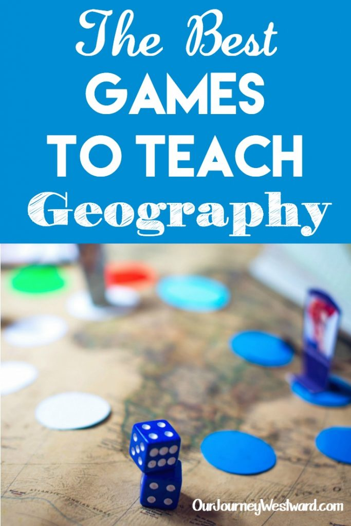 Learn geography easily and have fun! These games to teach geography are the best. #homeschool #geography #games
