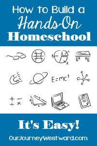 There are so many wonderful reasons hands-on homeschool. There are even more wonderful ways to go about it. Learn the why's and how's in this perfectly practical post.