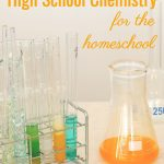 This homeschool high school chemistry course uses several unique resources to fill an entire year. It's lighter on mathematics for students who don't thrive on math, but need a chemistry course.